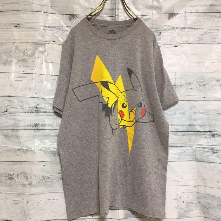 ピカチュウグレーTシャツ