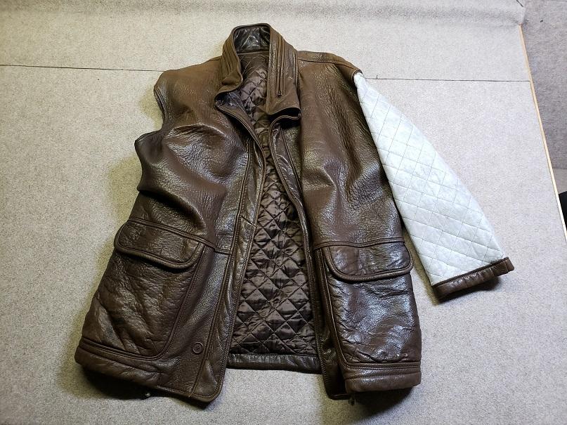 羊革 レザーコート