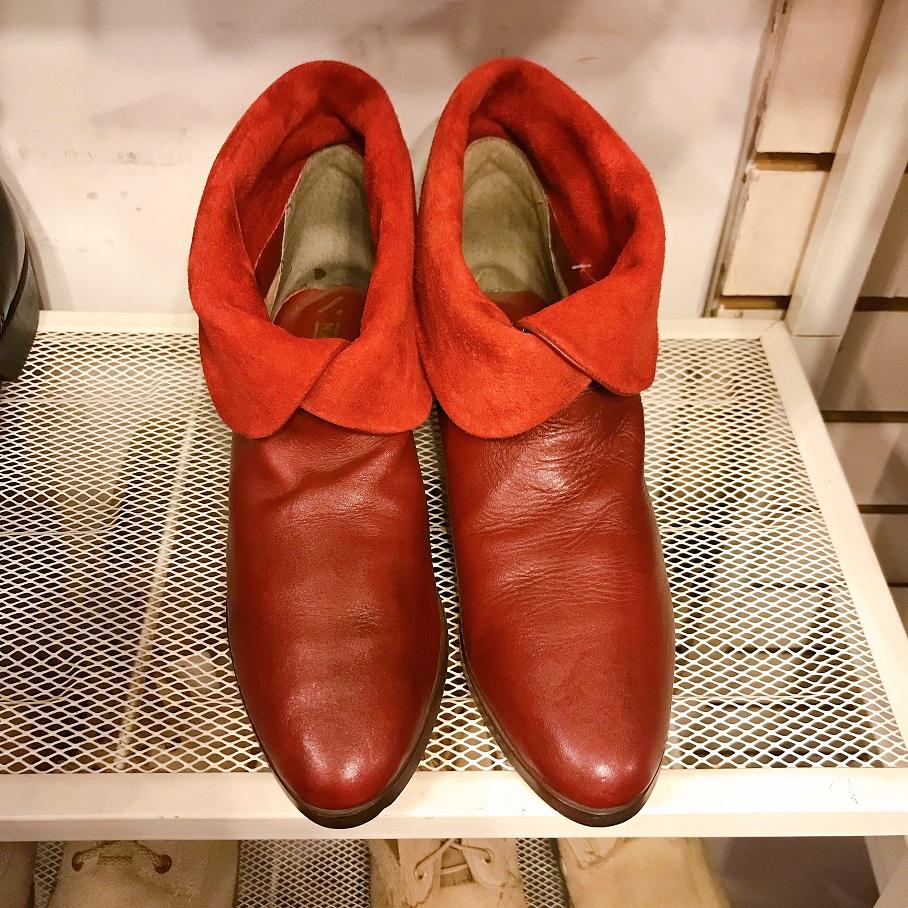 赤いブーツ①