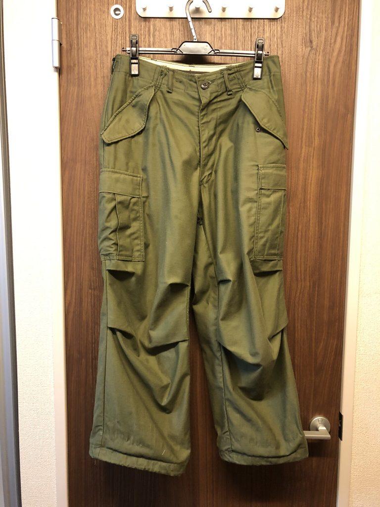 U.S.ARMY M65フィールドパンツ