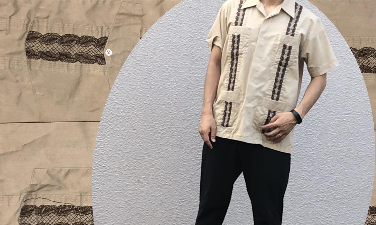 メキシカンシャツコーデ