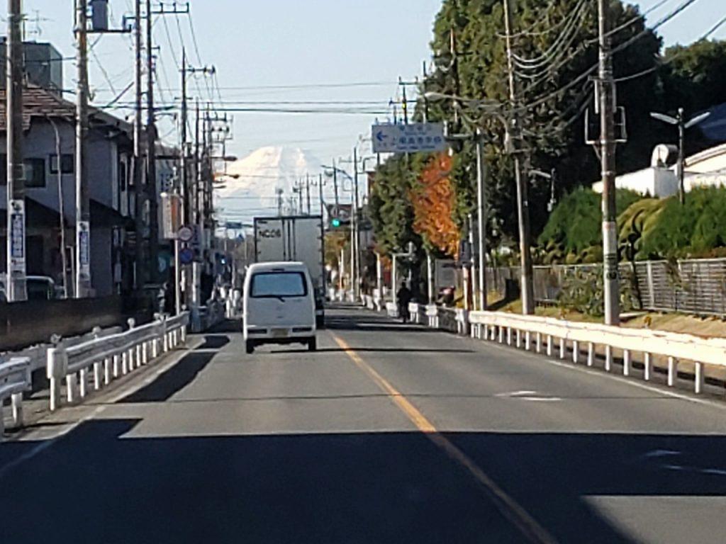 埼玉からの富士山