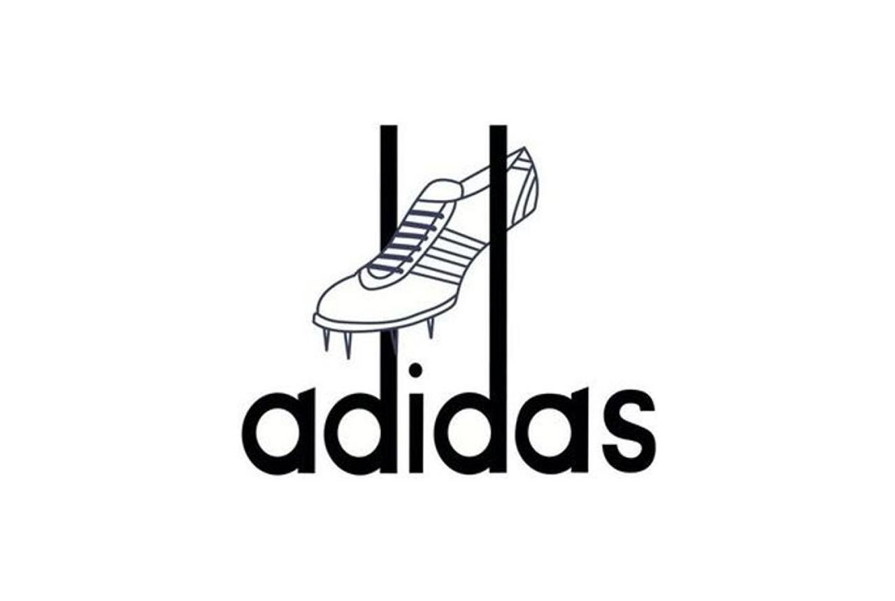 アディダス創業当時のロゴ