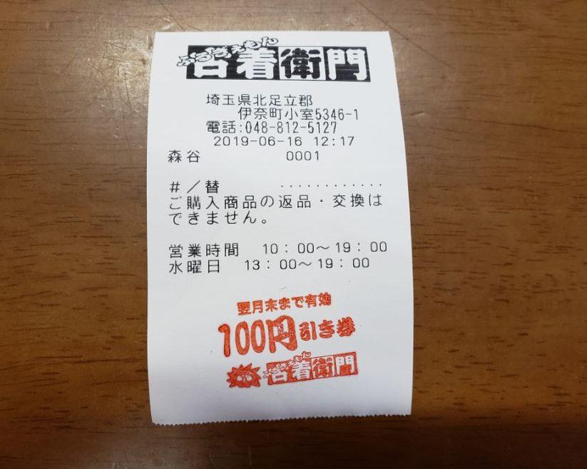 古着衛門100円券
